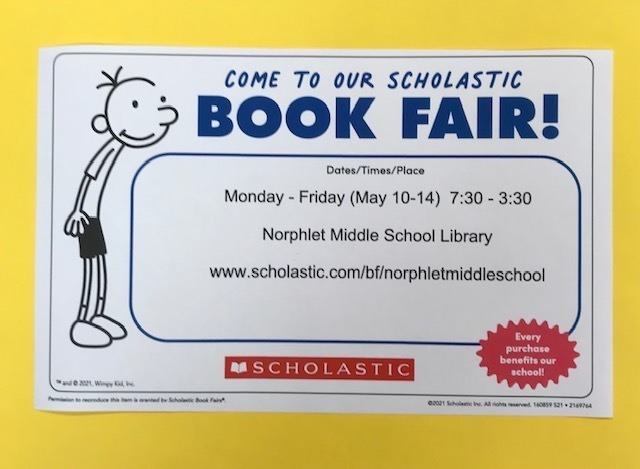 BOOK FAIR at NMS!!!