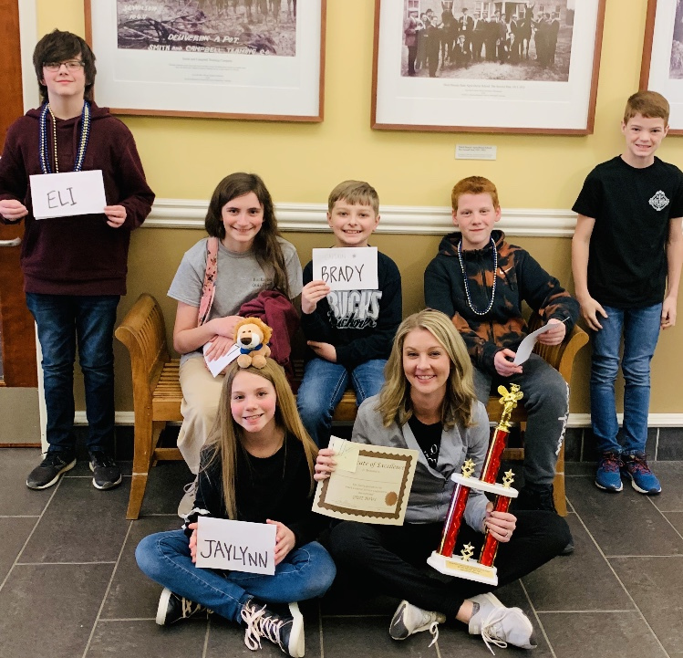 NMS QUIZ BOWL TEAMS COMPETE