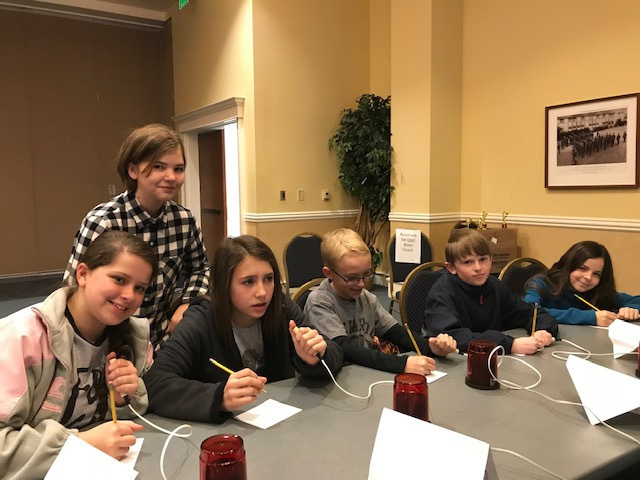 Norphlet Middle School 5th and 6th grade GT students Competing in a Quiz Bowl Competition