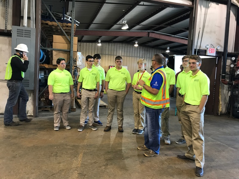 Engineering Students Tour Cross Oil