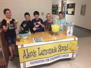 GT Students at Alex's Lemonade Stand