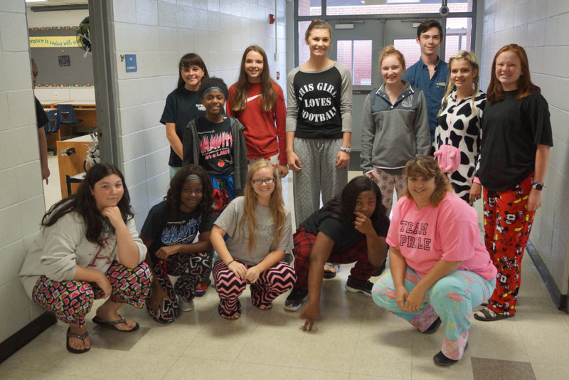Pajama Day and Walk-Through Party