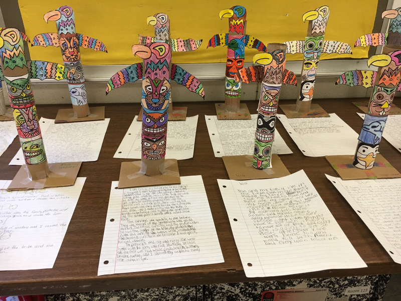 SES 5th Grade Native American Projects