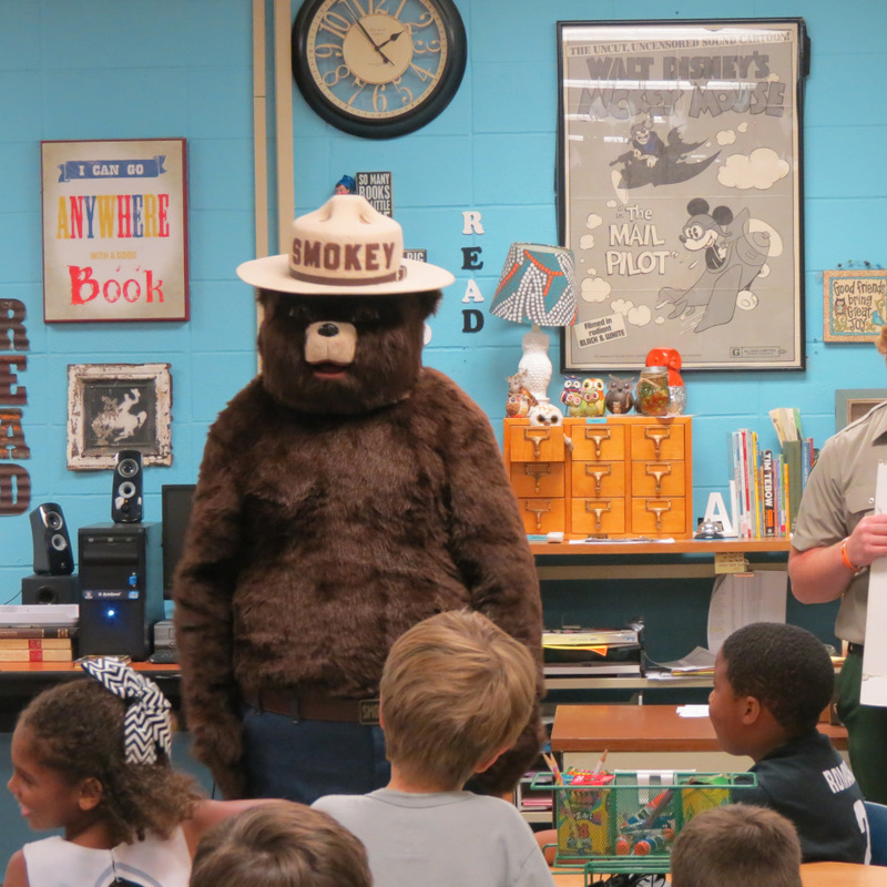 Smokey the Bear Visits SES