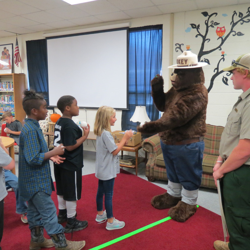Smokey the Bear Visits SES 6
