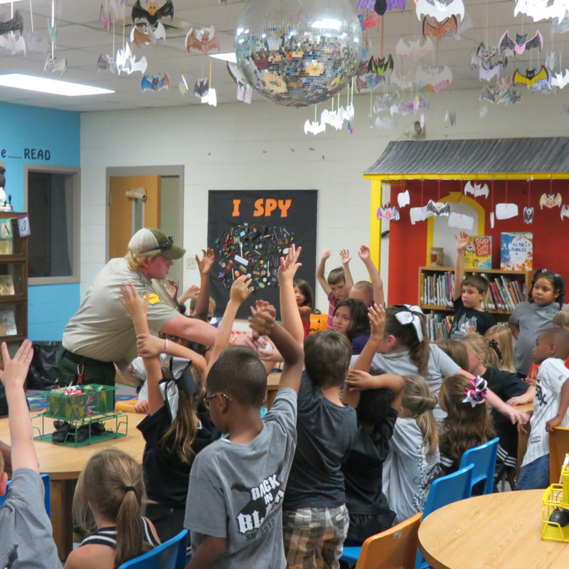 Smokey the Bear Visits SES 10