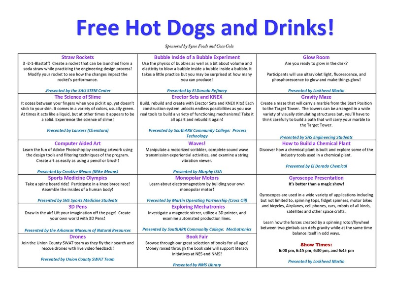 Free Hot Dogs and Drinks!
