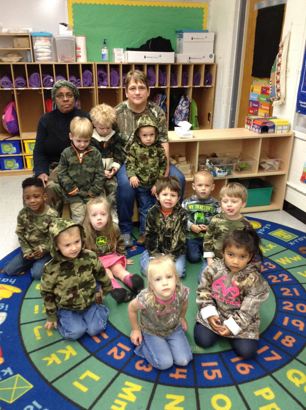 Wearing Their Camo