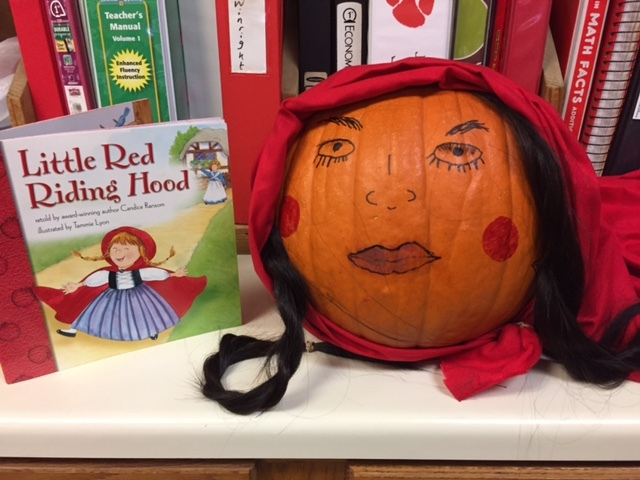 Little Red Riding Hood Pumpkin