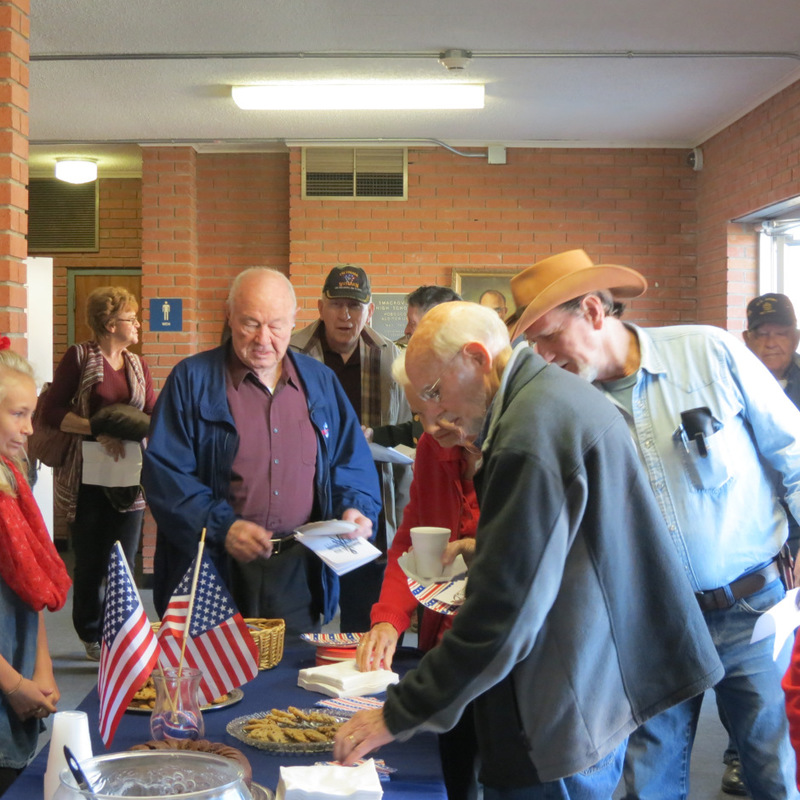 Veteran's Day Reception