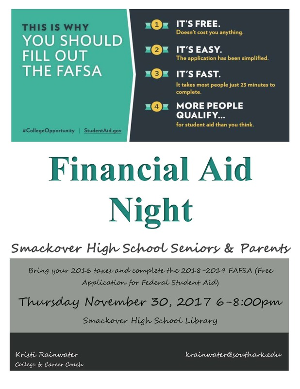 Financial Aid Night This Thursday!