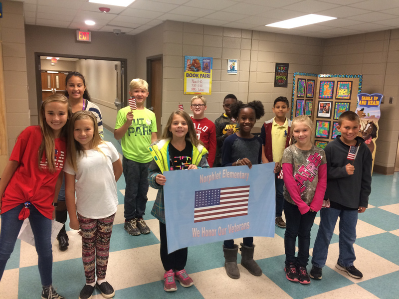 NES Student Welcome Veterans