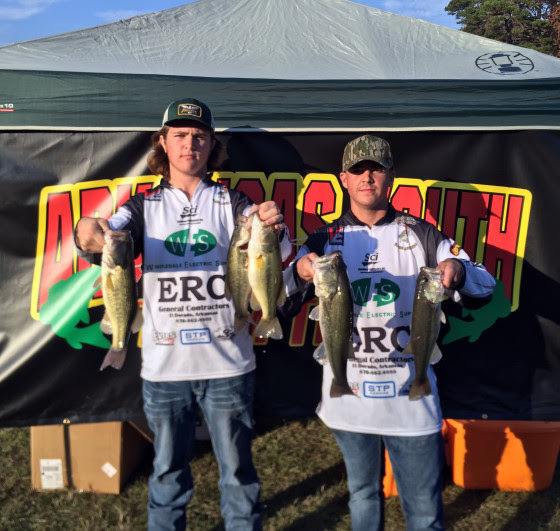 SHS Students Place in Fishing Tournament