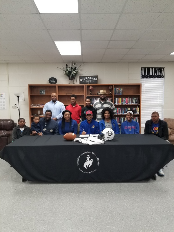 Former SHS Student Signs to Play Football with Kansas