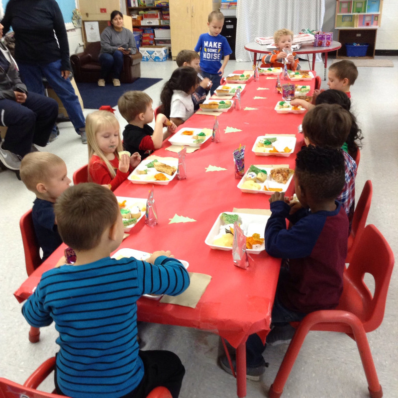 SPS Students Celebrate Christmas with a Special Luncheon