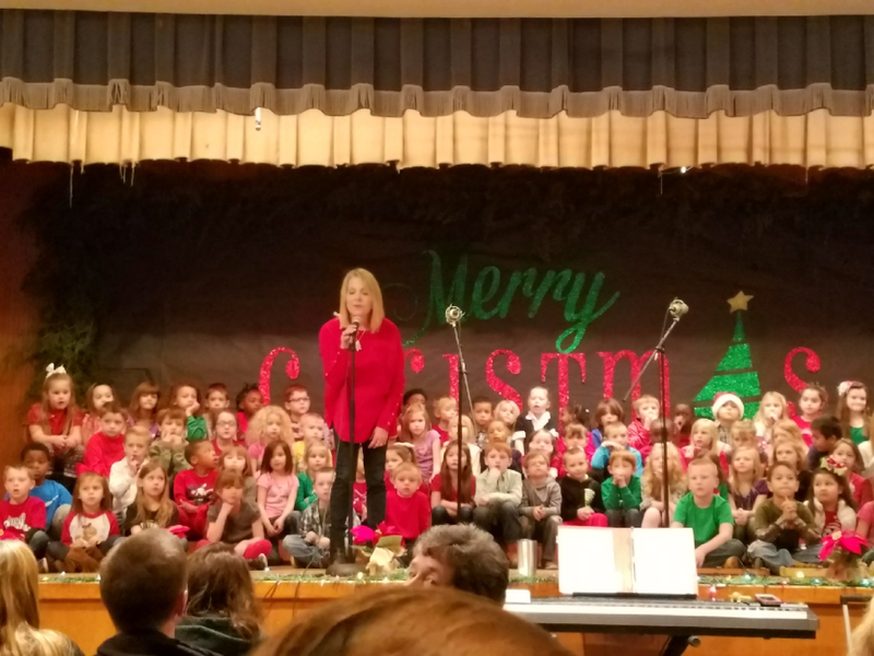 NES Students Put on a Christmas Program