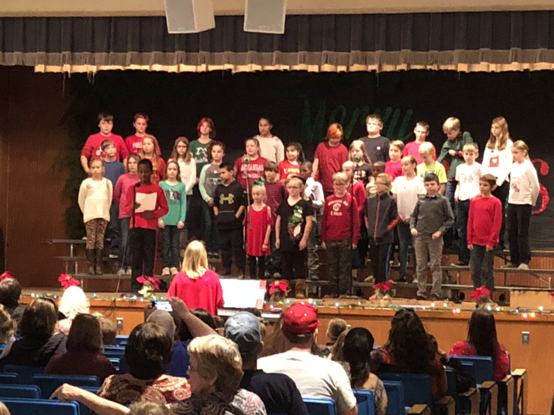 NES Students Holds Christmas Program for Parents
