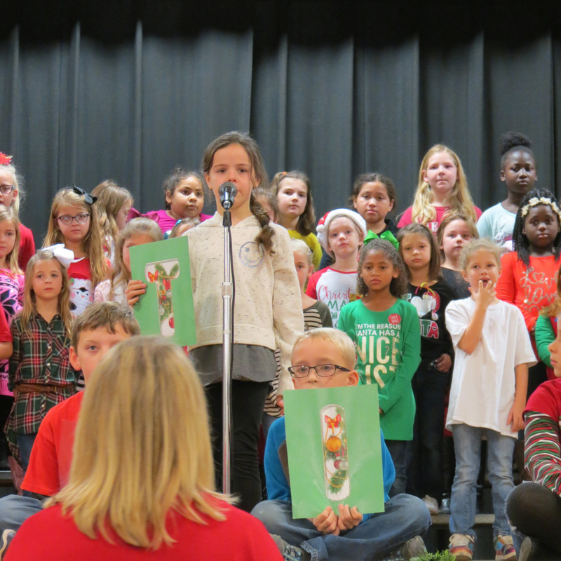 SES Students Christmas Program