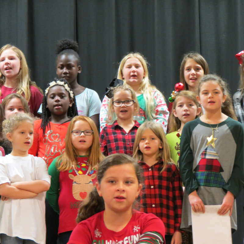 Students Sing for Parents