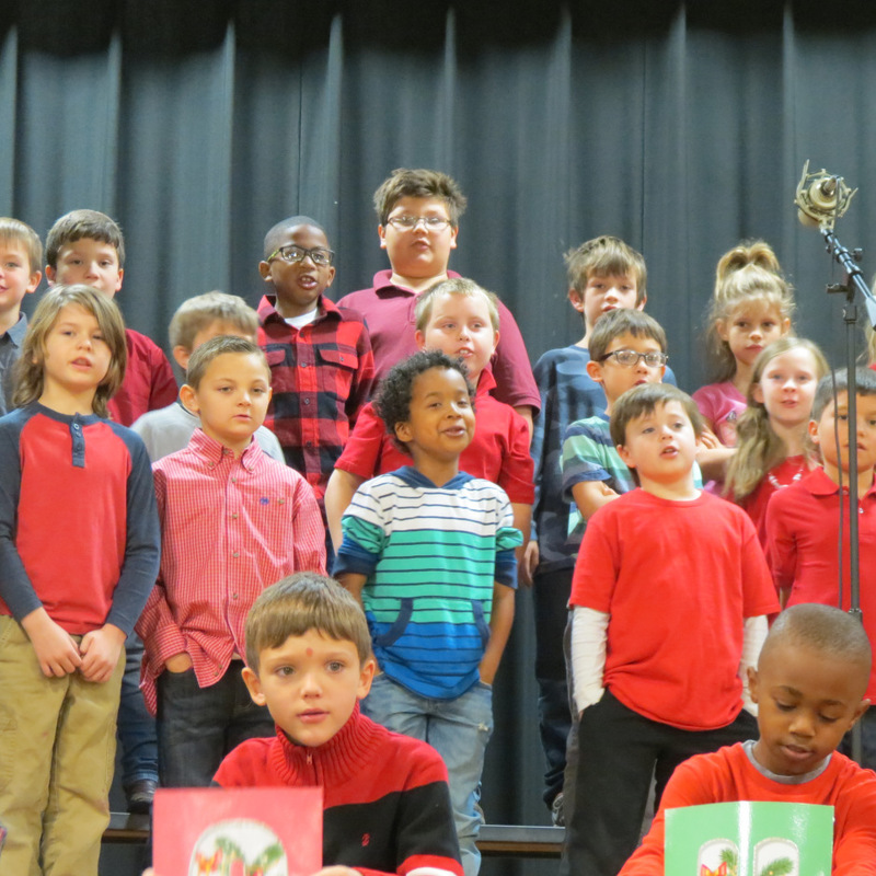 SES Boys Sing Christmas Carols