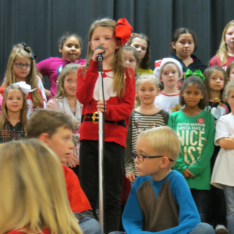 SES Students Speak about Christmas
