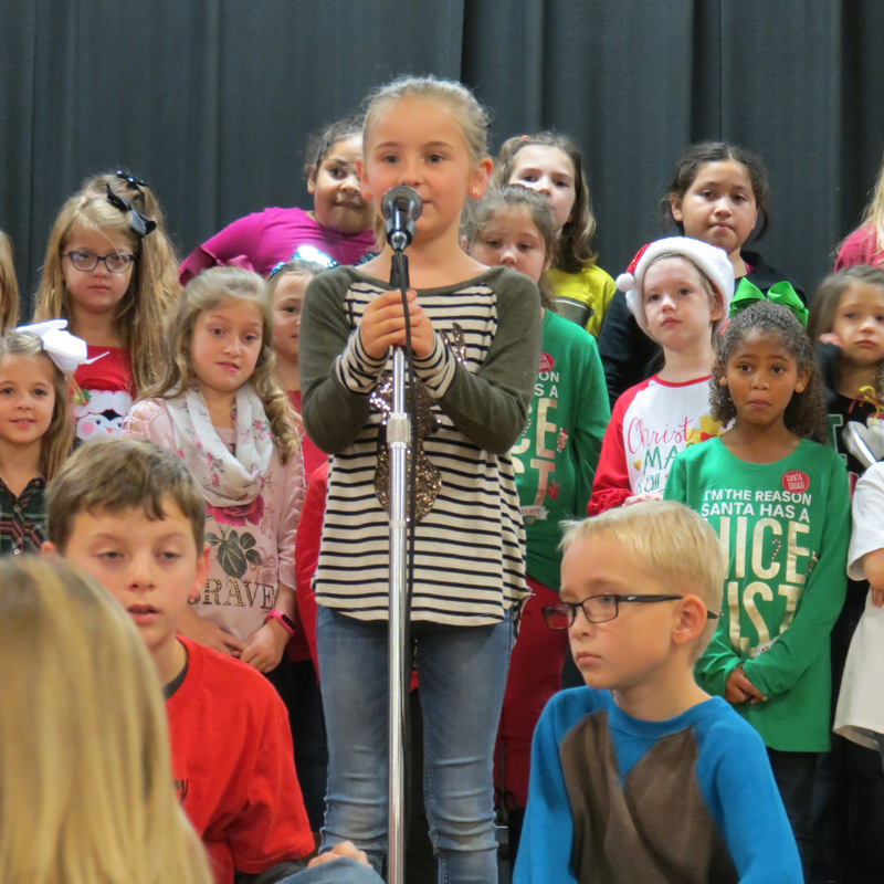 SES Students Christmas Poem