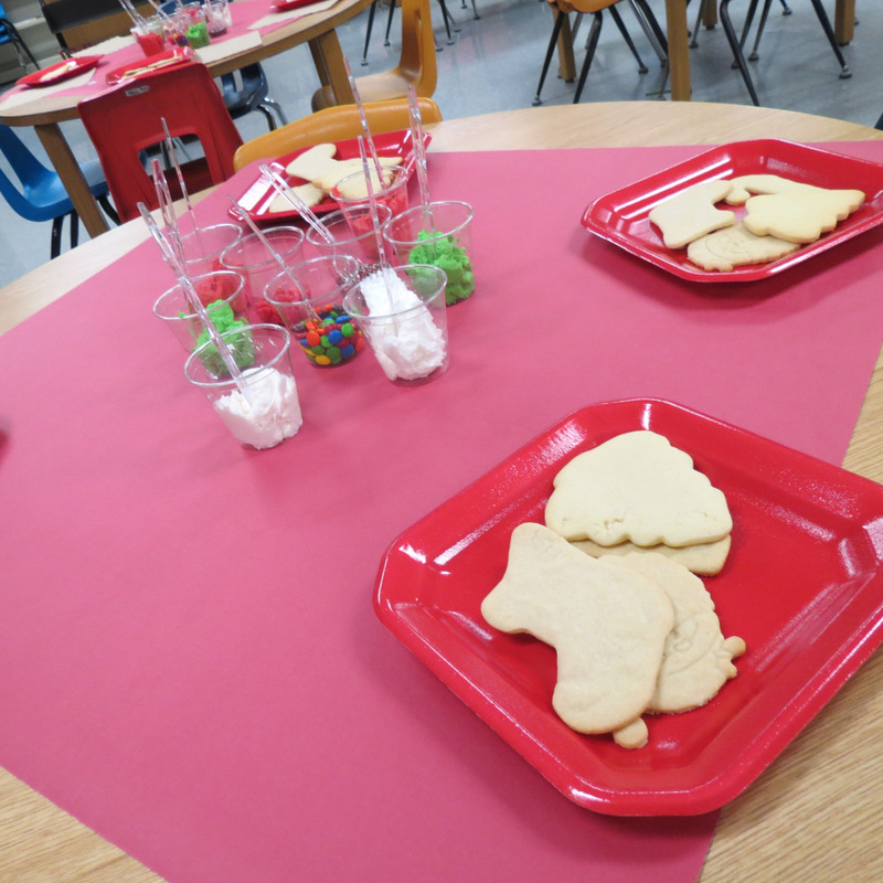 SES AR Achievers Reward: Making Christmas Cookies
