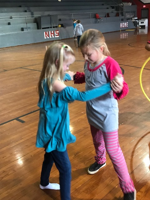 NES Students Play at Sock Hop