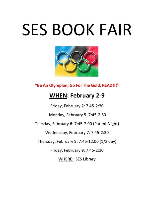 SES Book Fair Flyer