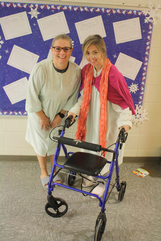 Teachers Dress for 100th Day