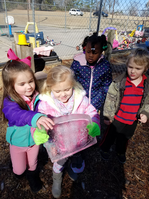 Science Experiment on the Playground