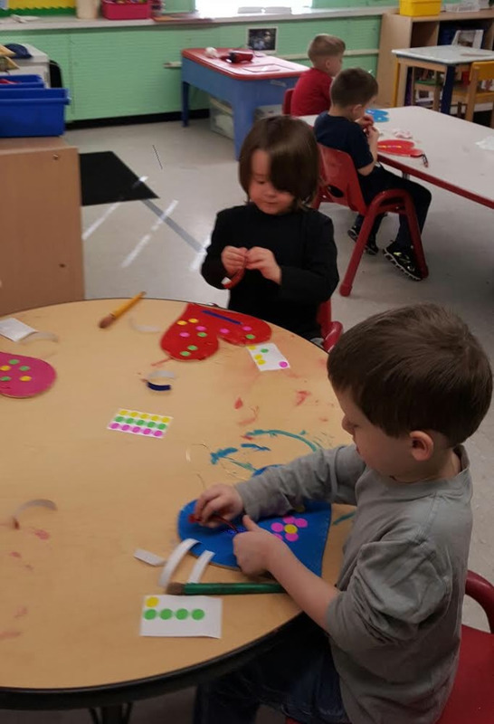 SPS Students Create Valentines