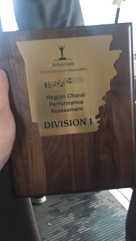 SHS Choir Students Win Award
