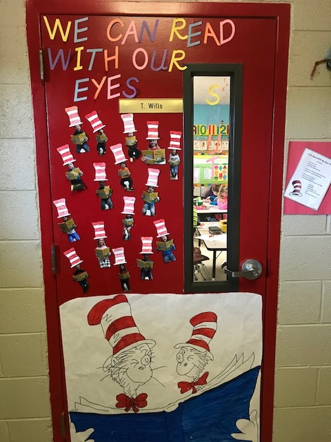 Dr. Seuss Door
