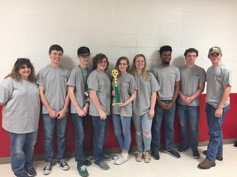 SHS Quiz Bowl Team Regional Champs