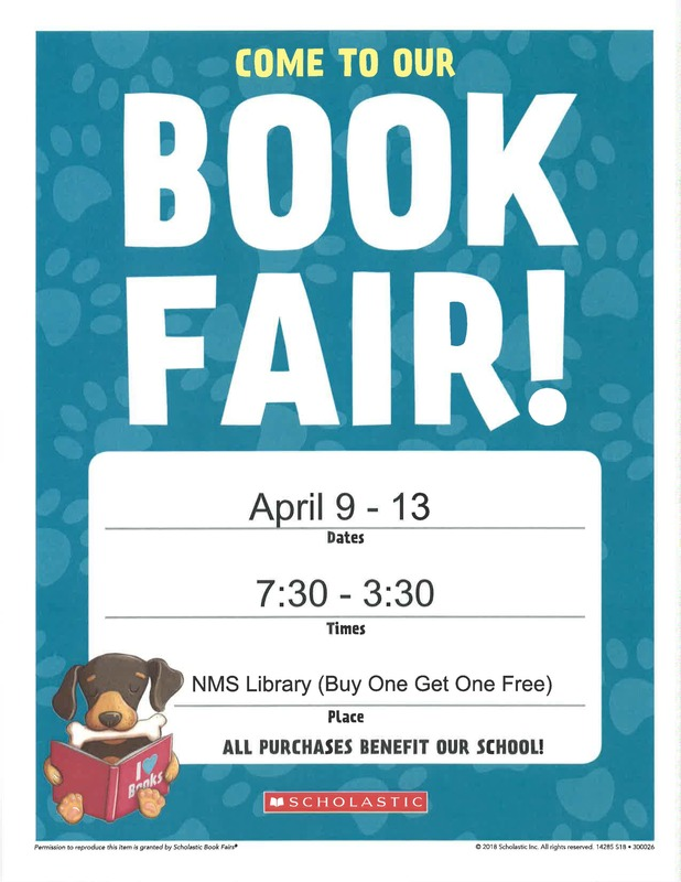 Norphlet Book Fair Flyer
