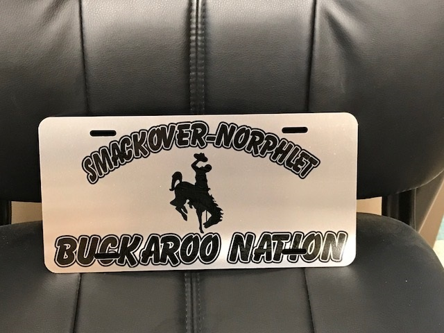 Buckaroo License Plate