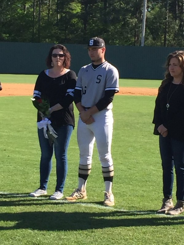 Baseball Seniors Honored