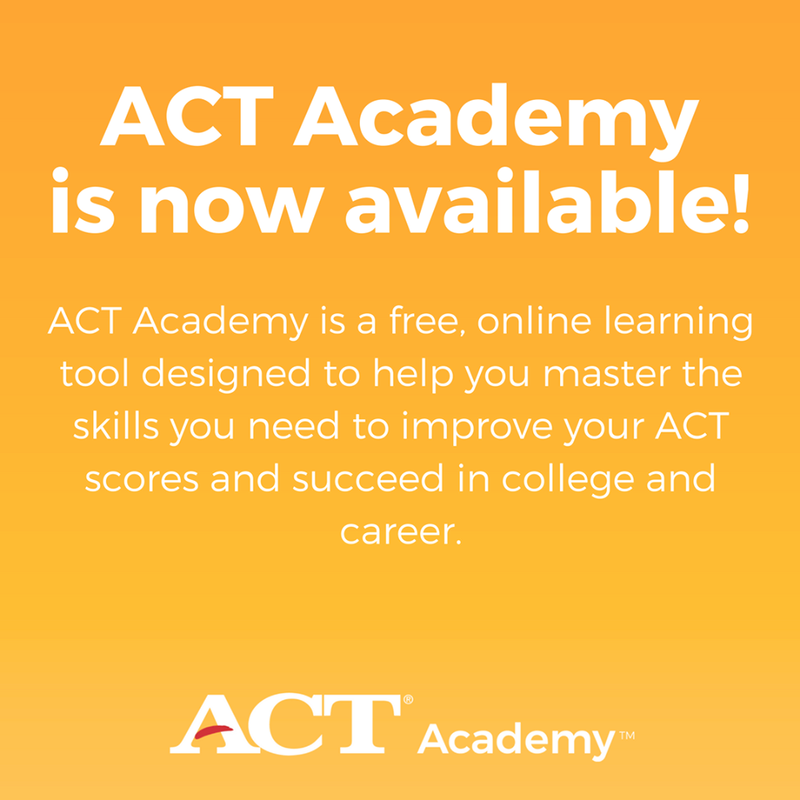 ACT Academy Flyer