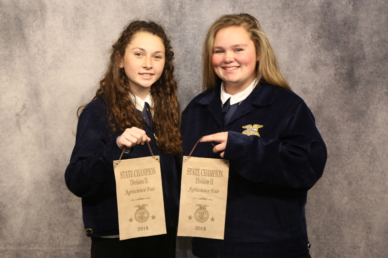 FFA Agriscience Fair Winners