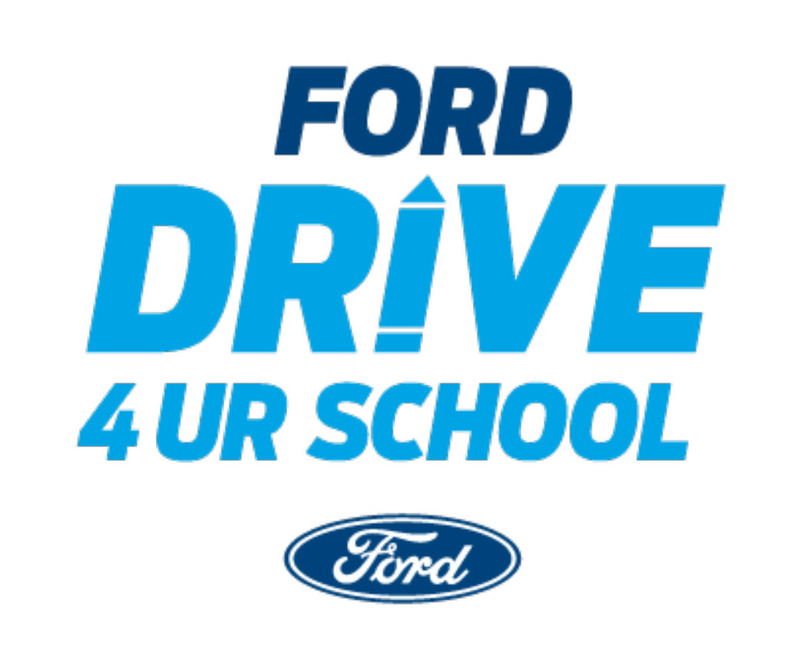 Ford Drive 4UR School Event Flyer