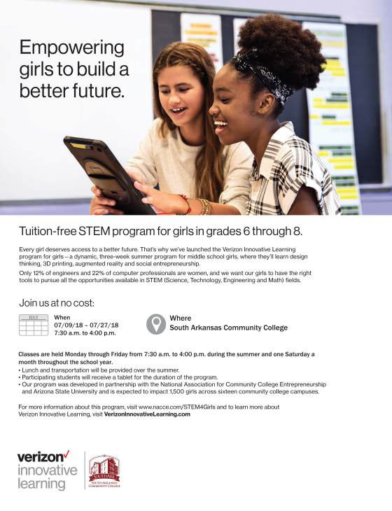 STEM Program for Girls Flyer