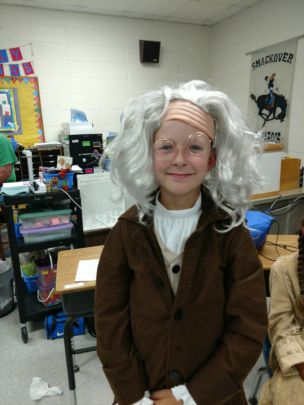 SES Students as Wax Figures