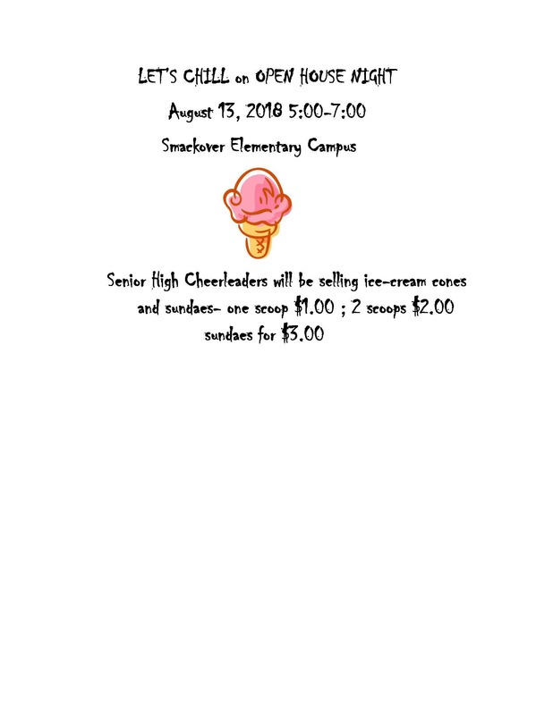Ice Cream Tonight at SES Flyer