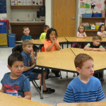 SES Students First Day of School