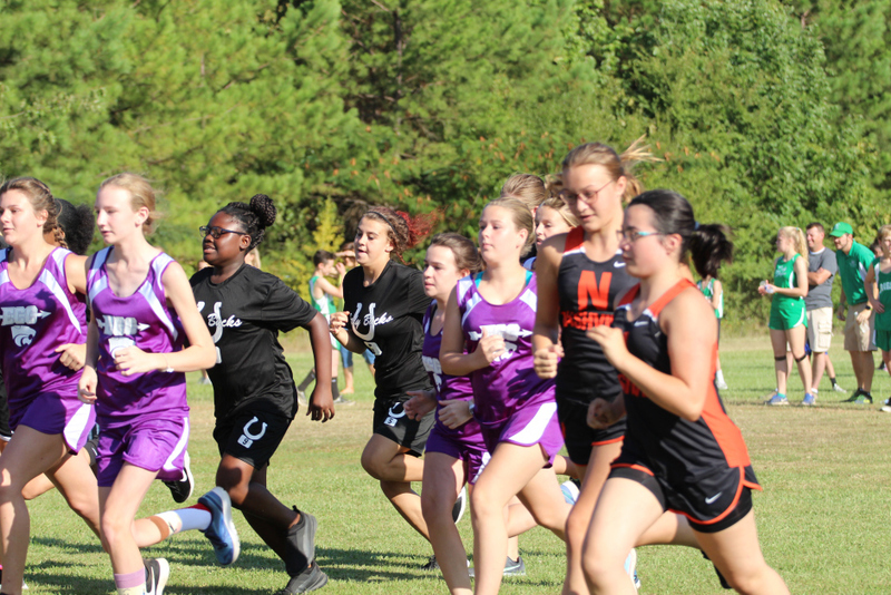NMS Cross Country Team Compete in First Meet