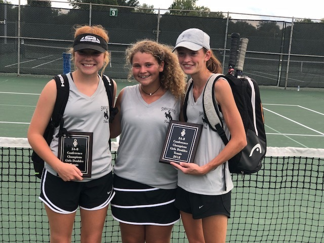 Senior Tennis Girls Excel at State