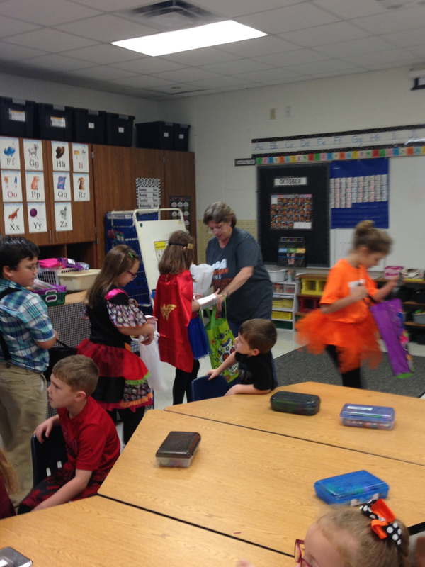 SES Students Rewarded for Meeting AR Goal