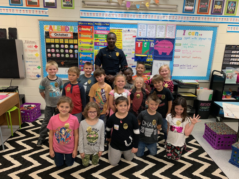 Career Day:  Being a Police Officer