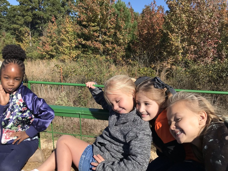 NES Students Visit the Pumpkin Patch